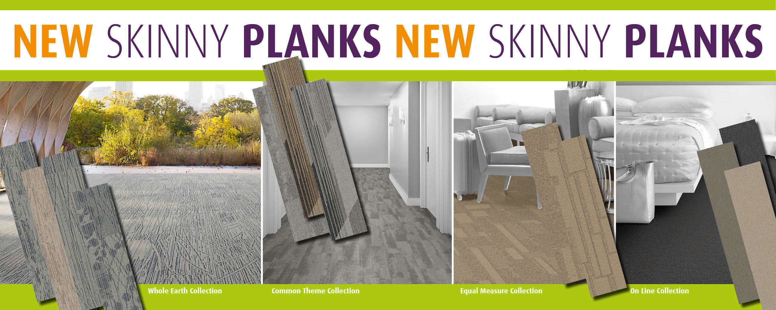 NEW IN STOCK Skinny Plank Collections